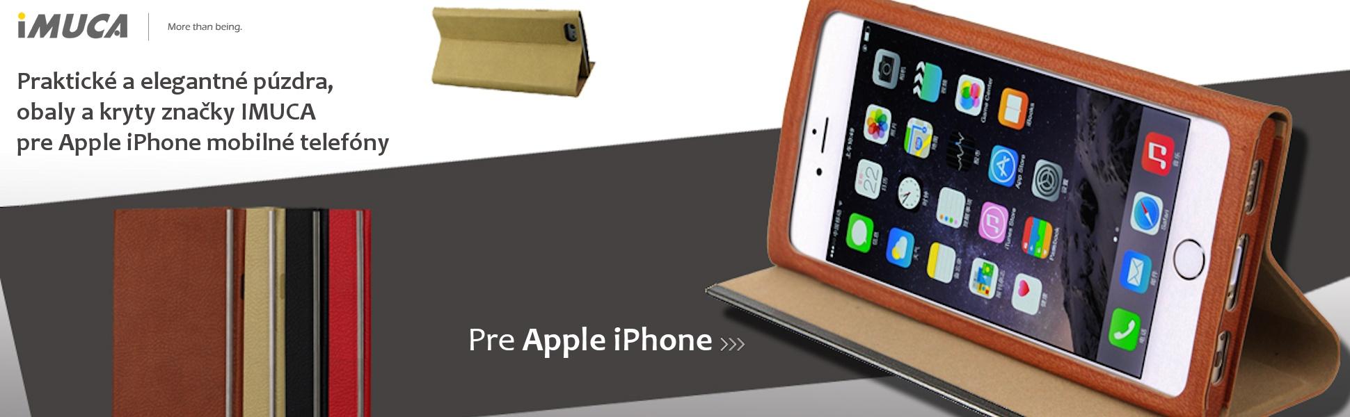 Praktické a elegantné púzdra, obaly a kryty na iPhone