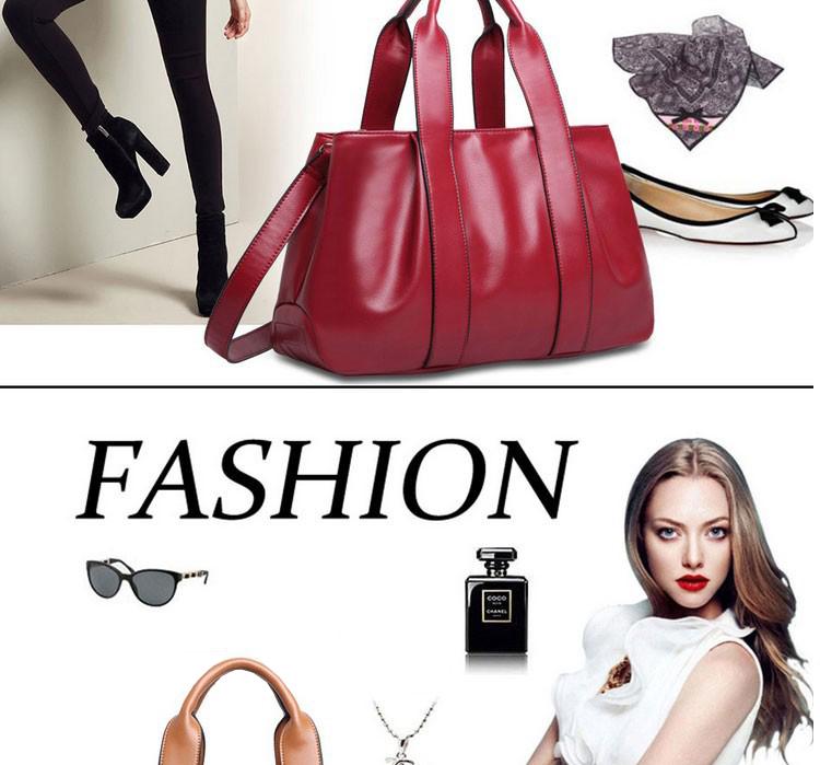 Kvalitná dámska kabelka z mäkkej kože v rôznych farbách