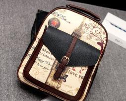 Dámsky školský ruksak s romantickým motívom vo farbách5