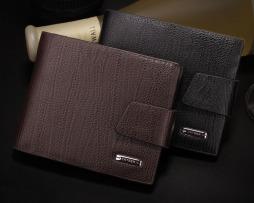 Kvalitná pánska kožená peňaženka Yateer zo syntetickej kože3