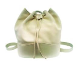 Luxusný kožený ruksak z jemnej prírodnej kože v šedo hnedej farbe