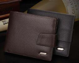 Exkluzívna pánska kožená peňaženka Yateer zo syntetickej kože (8)