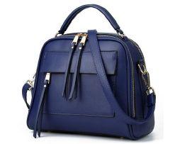 Kožená kvalitná kabelka v luxusnom štýle vo farbách (2)