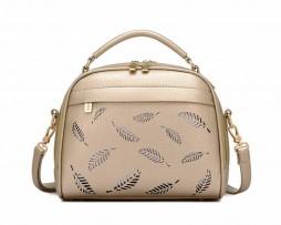 Dizajnová kabelka s dvomi zipsami vo farbách (2)