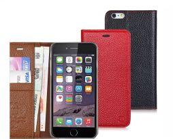 Špičkové multifunkčné púzdro pre iPhone 66S z pravej kože (5)