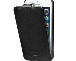 Flip luxusný obal IMUCA na iPhone 55S z prírodnej kože (1)