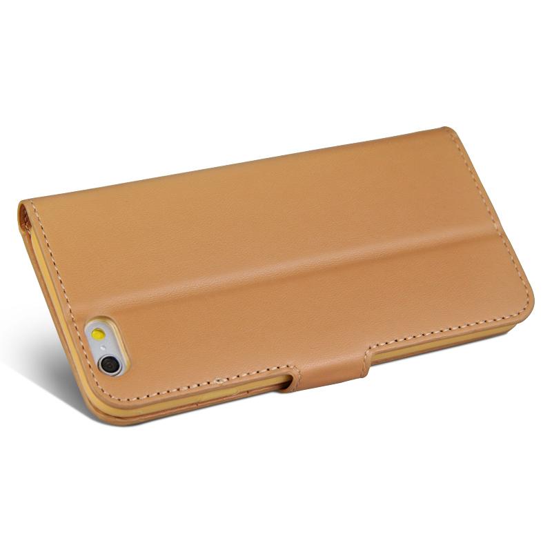 Knižkové kožené púzdro na iPhone 6 6S z umelej kože  8fa28a6f65e