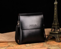 Kožená elegantná taška cez rameno POLO pre pánov (8)