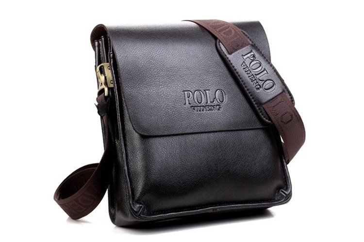 Kožená kvalitná taška cez rameno POLO pre pánov  ecbd0e5b552