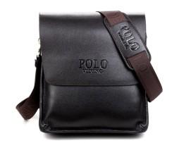 Kožená kvalitná taška cez rameno POLO pre pánov (5)