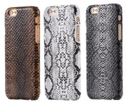 Kožený obal na iPhone 6 v štýle krokodíla v rôznych farbách (1)