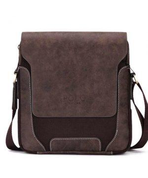 Kožená biznis taška cez rameno POLO v rôznych veľkostiach.