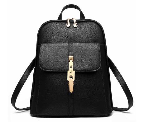 Kožený dámsky ruksak 4