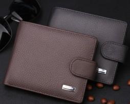Kvalitná pánska kožená peňaženka z eko kože (10)