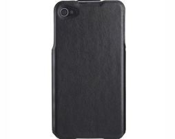 Kvalitné kožené flip púzdro IMUCA na iPhone 44S v retro štýle (3)