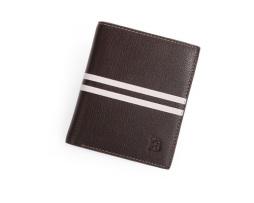 Kvalitná pánska kožená peňaženka BOGESI, vertikálna1