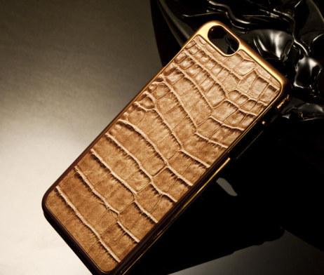 Luxusný obal na iPhone 6plus zo syntetickej kože a plastu