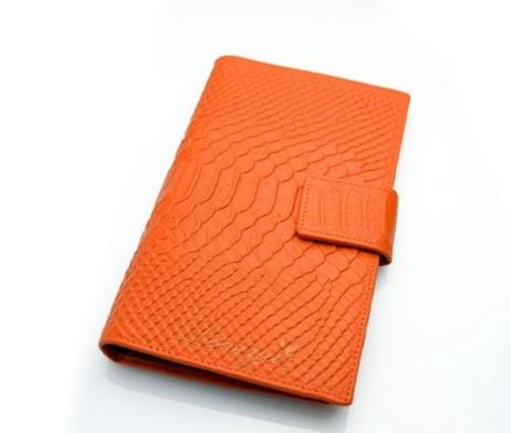 Originálna kožená dámska peňaženka so vzorom krokodílej kože (5)