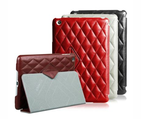 Retro kožené púzdro pre iPad mini 1, 2, 3 značky IMUCA (1)