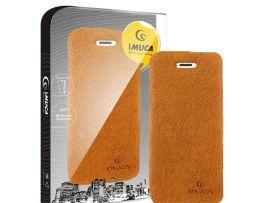 Tenké knižkové púzdro IMUCA na iPhone 55S z umelej kože (5)