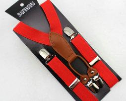 Unisex detské nastaviteľné traky s elastickým pásom, vzor 10
