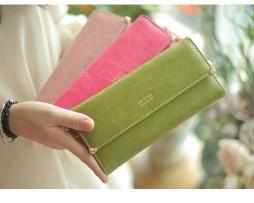 Dámska luxusná peňaženka zo syntetickej kože12