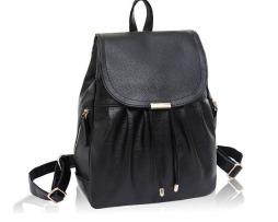 Kožený dámsky ruksak so sťahovacími šnúrkami vo farbách2