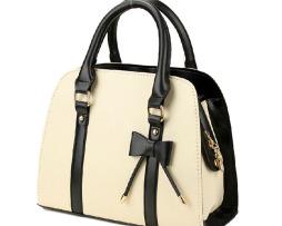 Kvalitná dámska kabelka s dekoračnou mašľou10