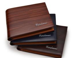 Luxusná pánska kožená peňaženka v štýlovom dizajne2