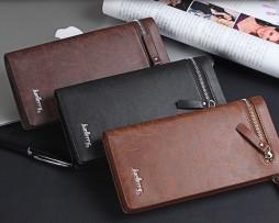 Multifunkčná pánska peňaženka s vizitkárom zo syntetickej kože5