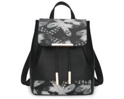 Nádherný kožený dámsky ruksak so vzormi vo farbách6