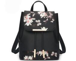 Nádherný kožený dámsky ruksak so vzormi vo farbách7