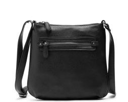 Dámska luxusná kožená taška cez rameno s nastaviteľným popruhom (6)