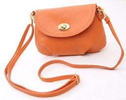 Dámska mini kožená taška zo syntetickej kože (1)