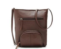 Dámska elegantná kožená taška cez rameno v rôznych farbách7