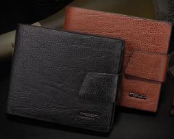 Elegantná pánska kožená peňaženka Yateer zo syntetickej kože