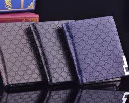 Moderná pánska kožená peňaženka v elegantnom prevedení, vertikálna (4)