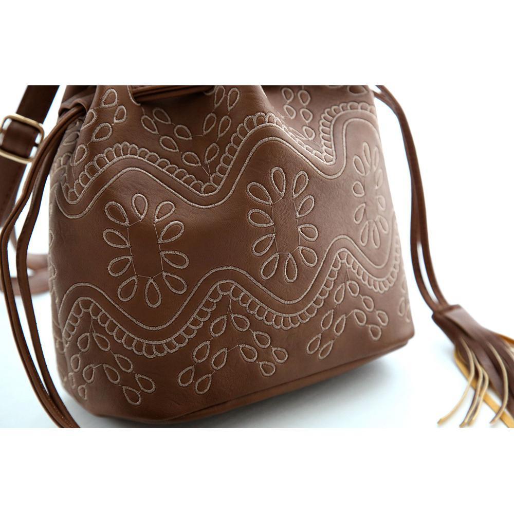 Dámska kabelka cez rameno v tvare ruksaku  b0918c415cd