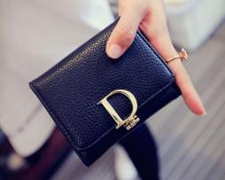 Dámska módna peňaženka zo syntetickej kože so štýlovým dizajnom3