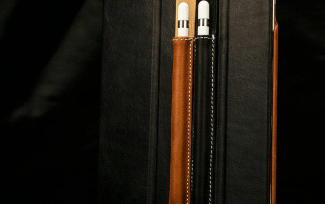 Kožené púzdro pre Apple pencil s naťahovacím remienkom 48b90b0dc94