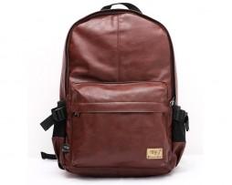 Pánsky módny ruksak z kože v rôznych farbách