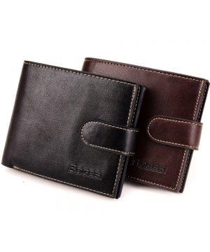 Módna pánska kožená peňaženka Bogesi zo syntetickej kože