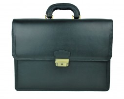 Štýlová kožená aktovkabýva bežnousúčasťou pracovného outfitu každého manažéra alebo manažérky. Slúži ako praktický a pohodlný doplnok k prenosu dokumentov (1)