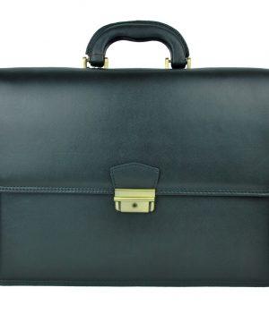 6f4ffbda1 Štýlová kožená aktovka býva bežnou súčasťou pracovného outfitu každého  manažéra alebo manažérky. Slúži ako praktický