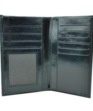 Elegantná kožená dokladovka č.8203 v čiernej farbe (1)