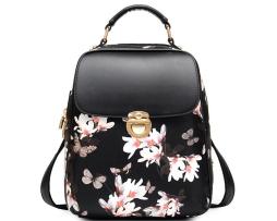 elegantny-kozeny-damsky-ruksak-so-vzorom-motylov-v-ciernej-farbe