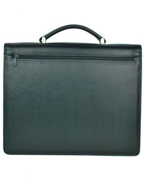 Luxusná kožená aktovka z pravej kože. Kožená aktovka je plochá taška slúžiaca ako elegantné púzdro na uloženie rôznych spisov a dokumentov (2)