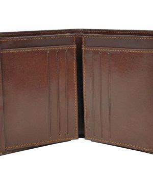 Moderná kožená dokladovka vyrobená z pravej prírodnej kože dovážanej z Talianska (2)