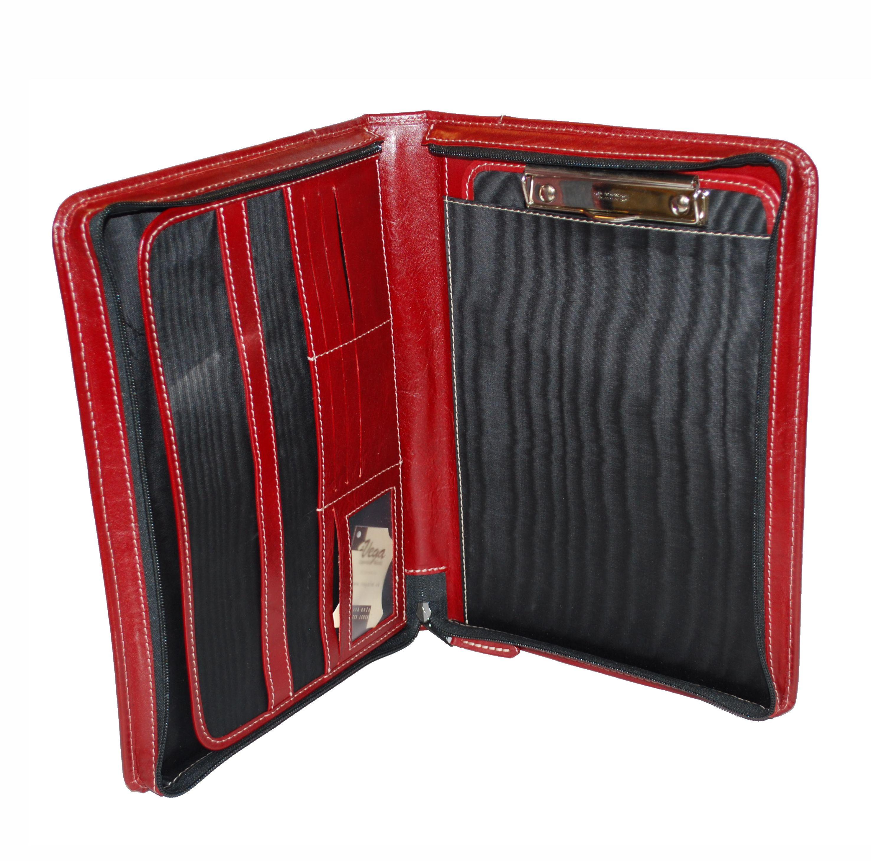 ef7570db2d Exkluzívna kožená spisovka č.8162 v červeno hnedej farbe - Kožená ...