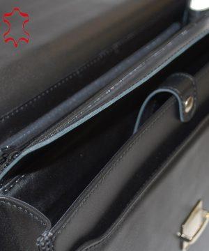 c52c07d1dd The product is already in the wishlist! Browse Wishlist · Kožená aktovka z pravej  hovädzej kože č.7898 v čiernej farbe ...